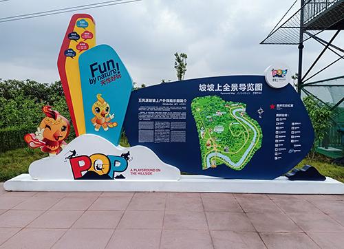 旅游景区标牌