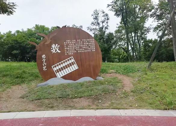 四川旅游景区标识标牌及钣金雕刻成功案例