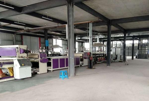 重庆中空塑料模板厂区展示