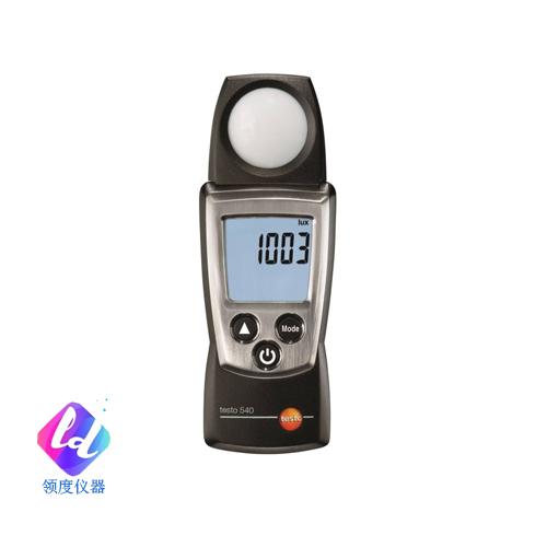testo 540 - 照度计