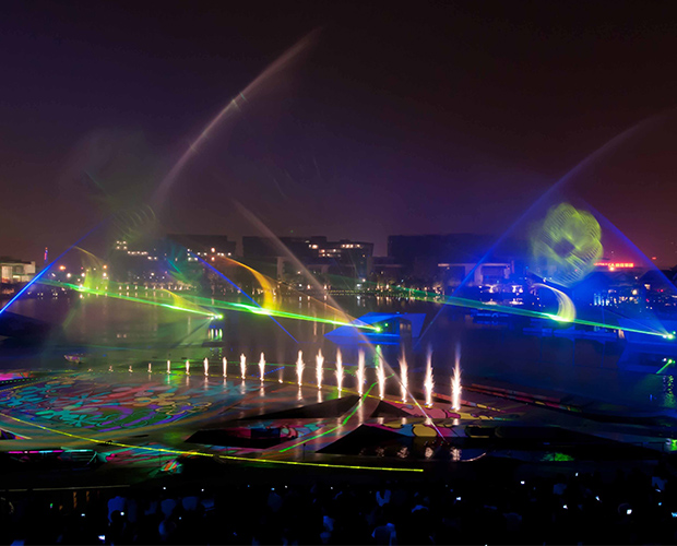 四川激光水幕工程