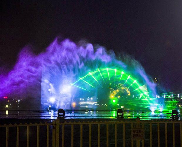 四川激光水幕工程设计