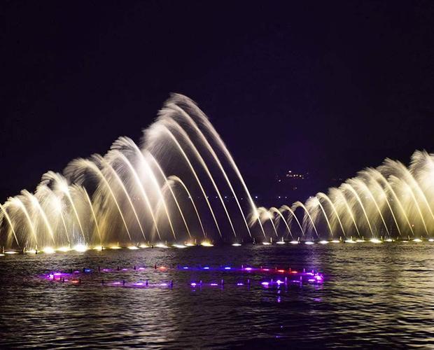 成都水景喷泉设计
