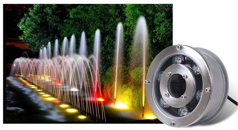 成都喷泉设计公司与您分享LED水下灯安装需注意3大点