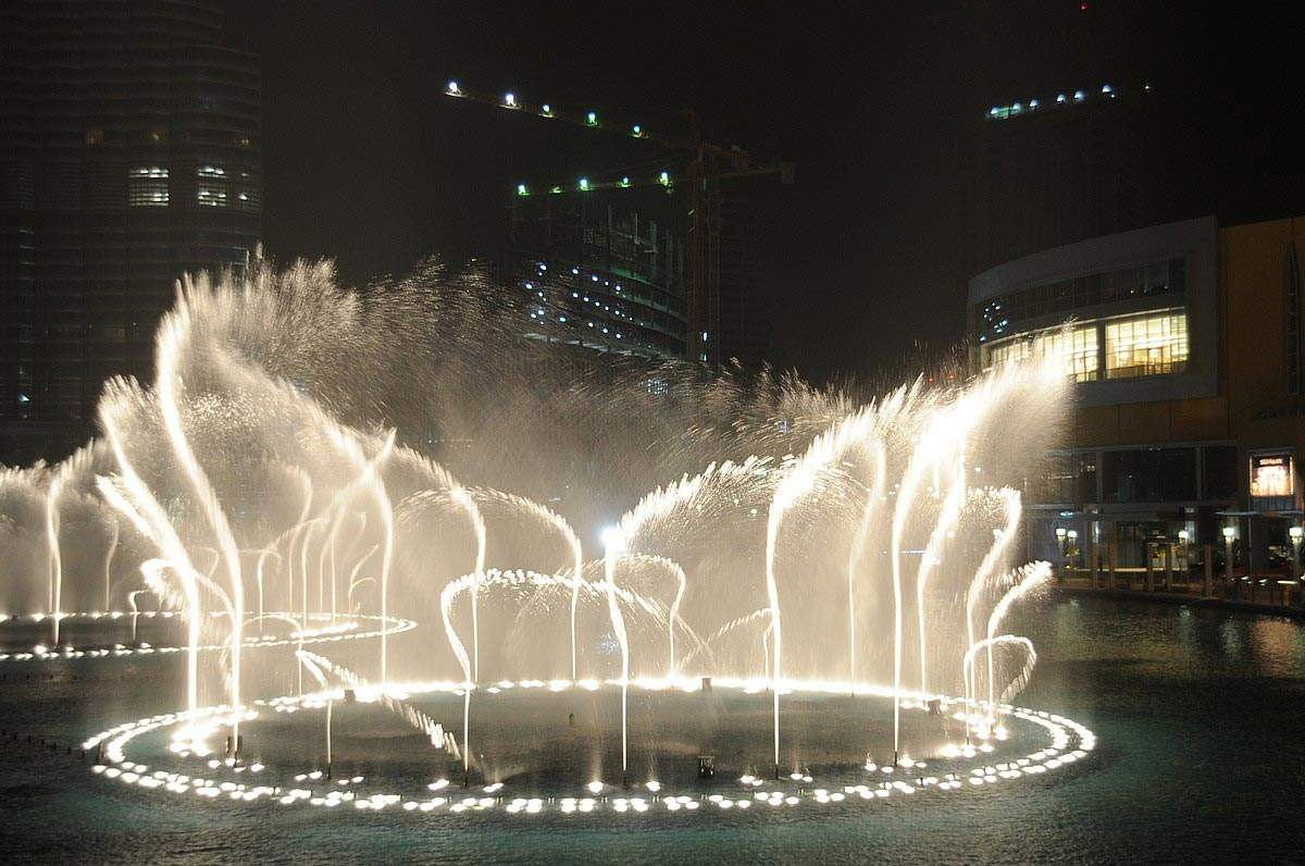 安装四川音乐喷泉,位置选择很重要