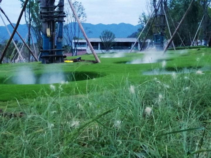 重庆智慧公园喷雾