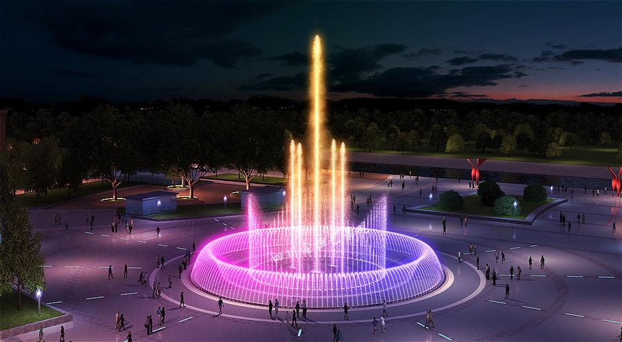 喷泉设备的水泵选型应该注意的几个问题