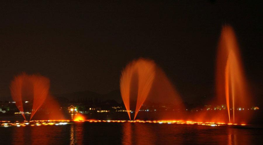 四川水景喷泉:万千姿态,越夜越精彩