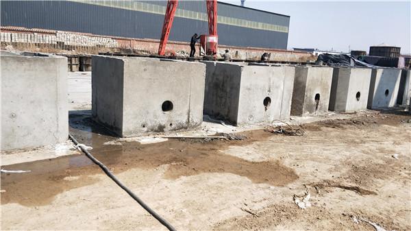 预制混凝土矩型消防井