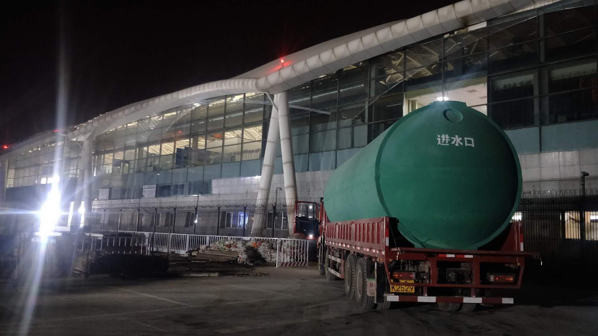 白塔机场合作呼市化粪池