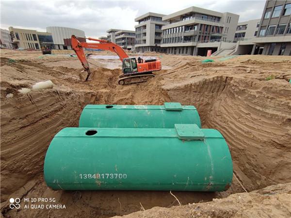 呼市化粪池厂家与和林格尔新区合作