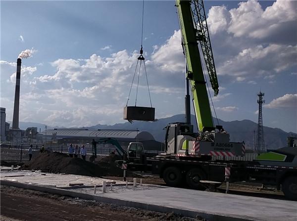 金山电厂扩建工程与呼市化粪池合作
