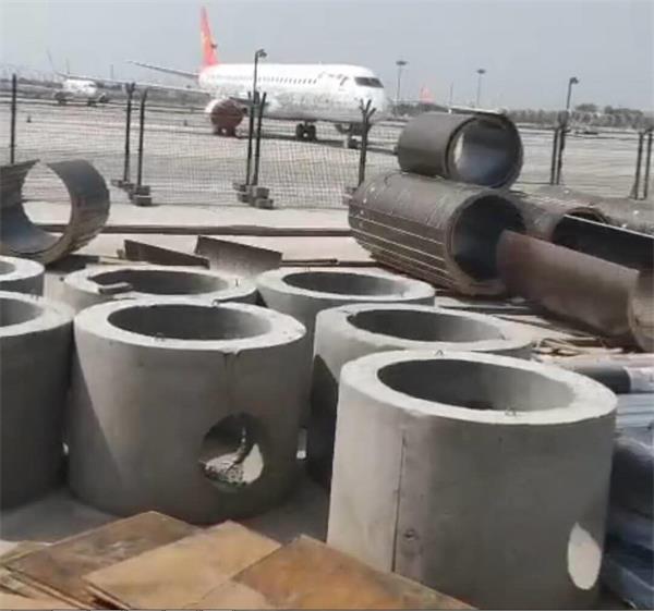 飞机场检查井施工合作案例