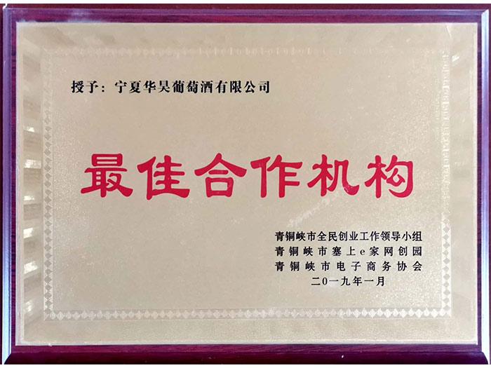 合作机构-青铜峡市2019年度