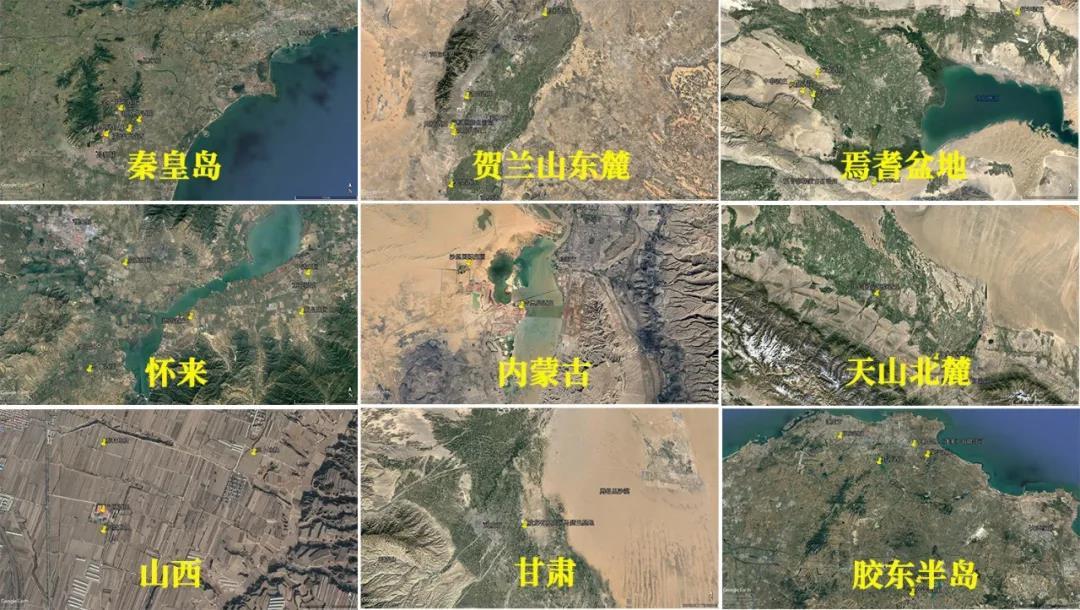 中国主要马瑟兰种植区华昊酒庄