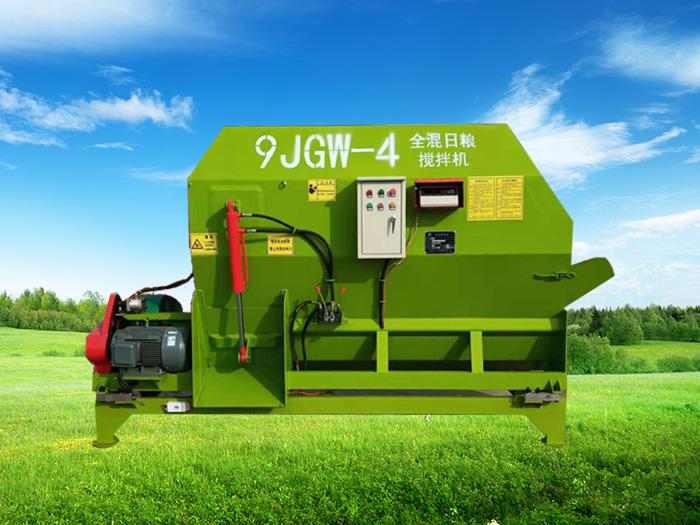 龙泽机械生产的全混日粮搅拌机主要创新点,农户们请注意咯!