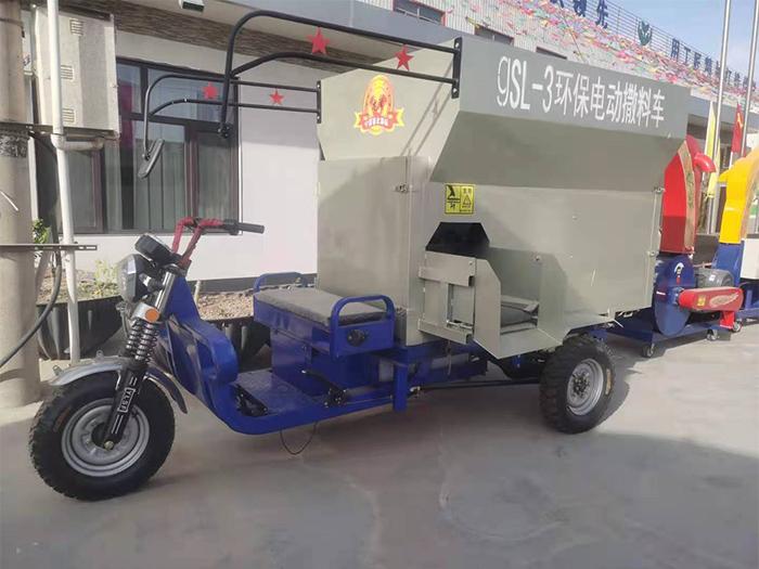SL-5柴油撒料车