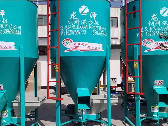 饲料混合机在饲料加工过程中非常重要。