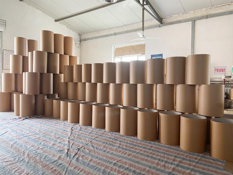 全纸桶生产车间