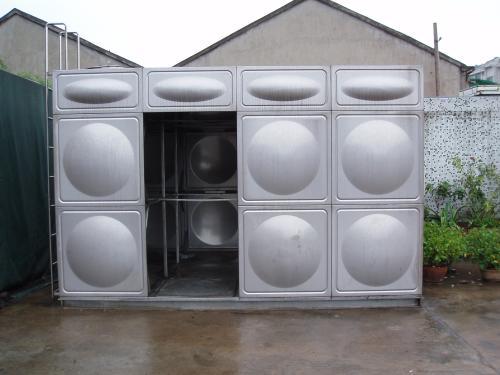 采用包头不锈钢工程制造的不锈钢水箱如何着色?