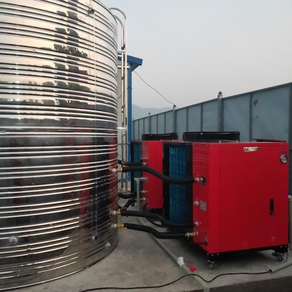 空气能热水器客户安装案例