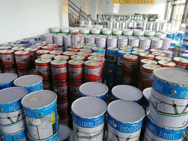 乌兰察布蒙东油漆与内蒙古新太实业集团有限公司合作特种涂料案例