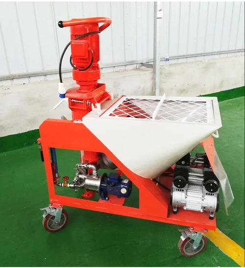 石膏喷涂机机械化施工的主要条件有哪些?