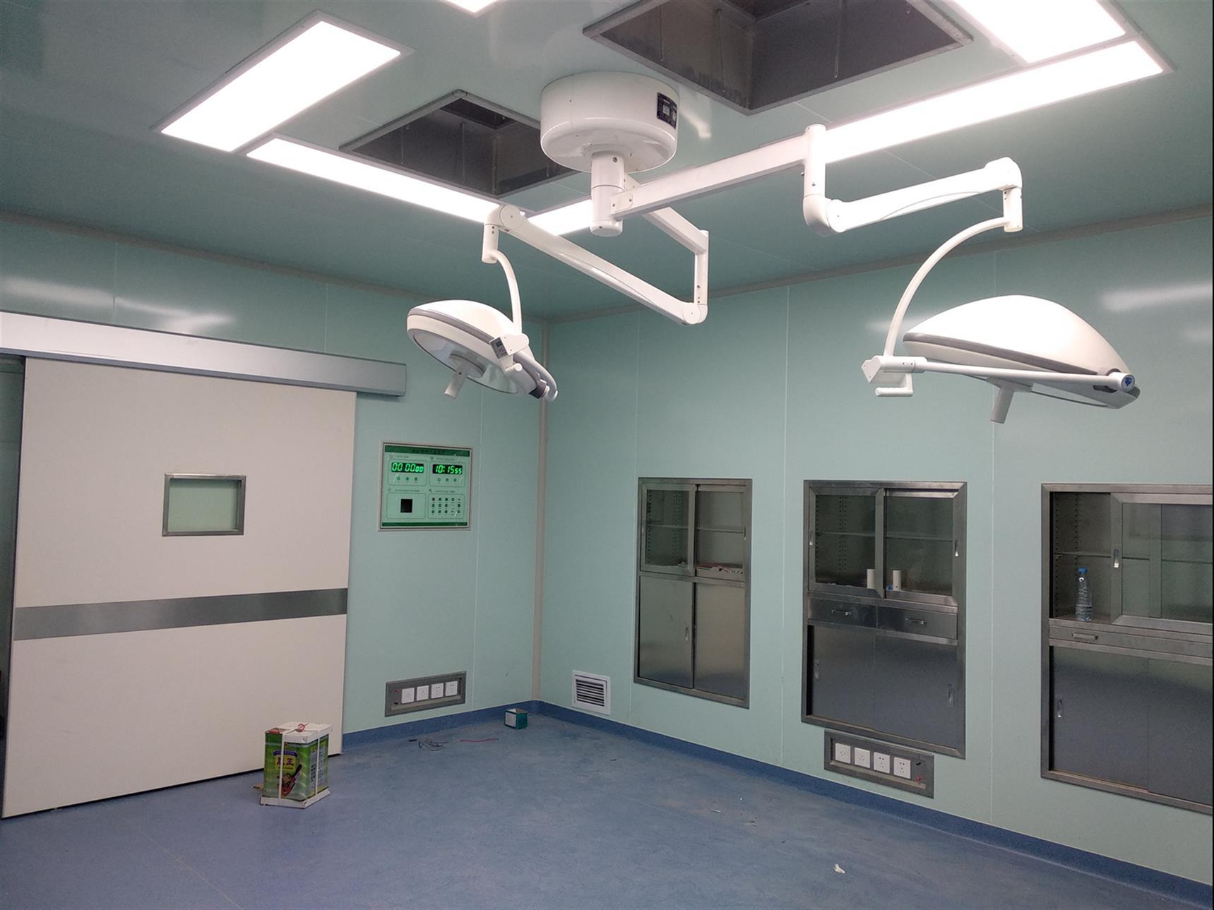 层流手术室净化地面、吊顶及门窗装修