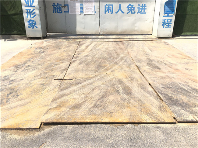 郑州钢板租赁费用