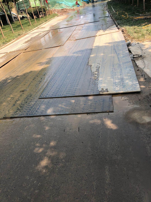 冬天施工河南铺路钢板时候要注意的内容是什么呢