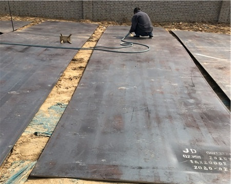 郑州钢板租赁简析钢板的材质有哪些?