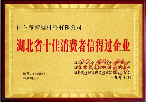 佛山陶瓷泥美缝:湖北省十佳消费者信得过企业