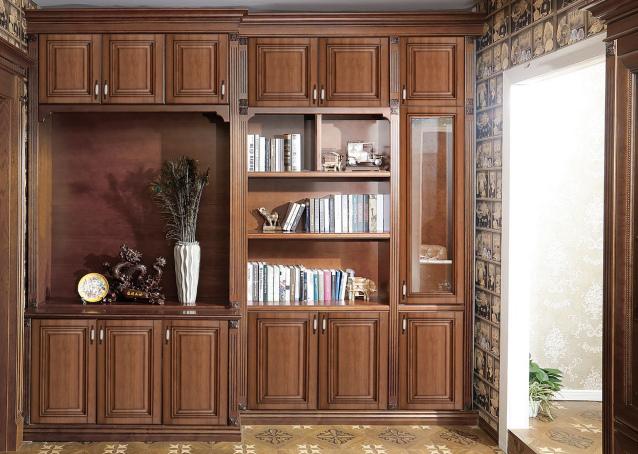 成都全屋整体家具-书柜
