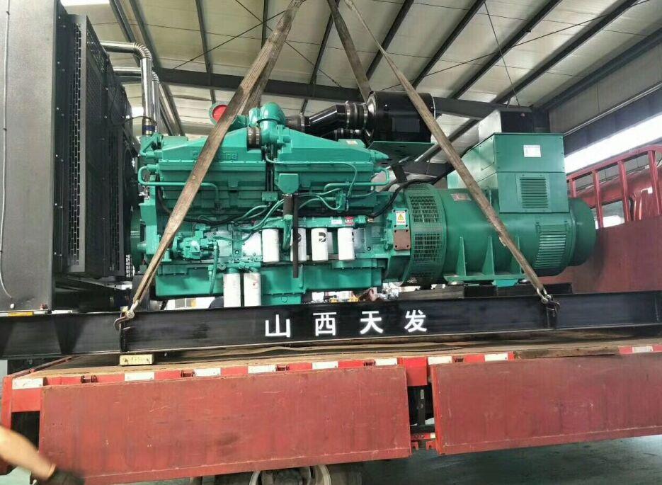 四川柴油發電機組案例