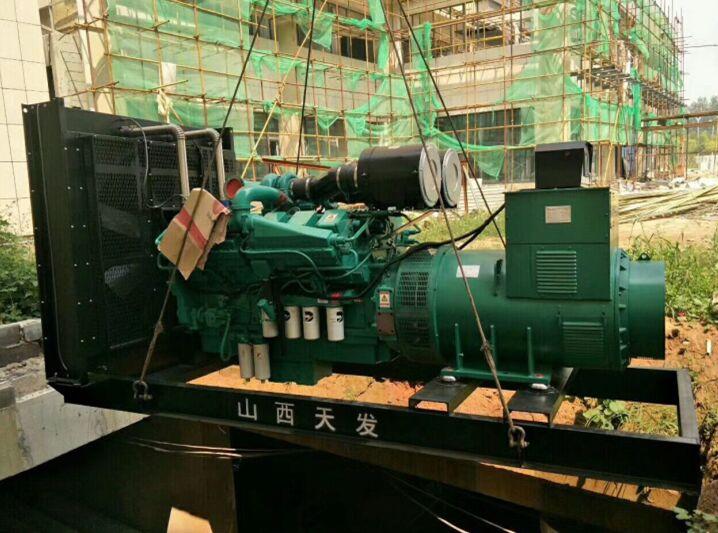 四川柴油發電機組成功案例