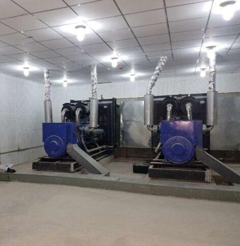 柴油發電機組合作客戶:天全縣中醫院上海東風研究所