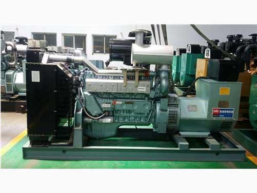 中國重汽發電機組