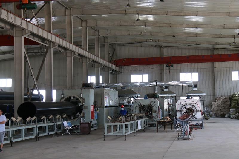 高密度聚乙烯外护管生产线