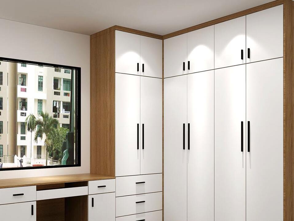 快快快!@所有人!衣柜定制这样设计,空间大的不止一倍!