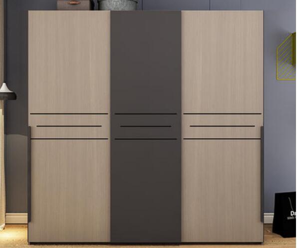 极简实木衣柜