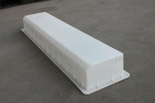 郑州360件路沿石模具模盒生产中