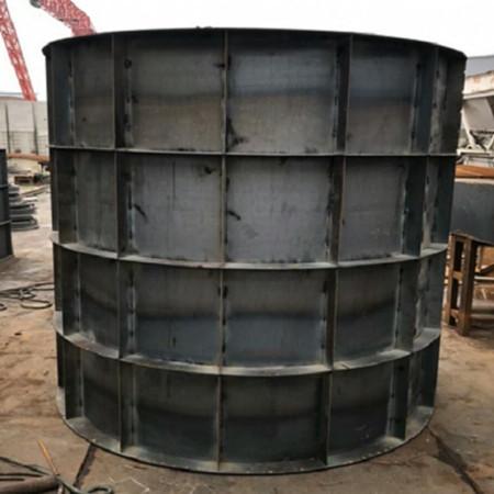 井体钢模具的脱模斜度设计