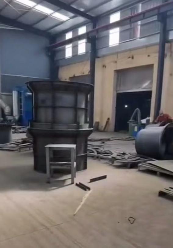 巨盛检查井钢模具组装过程记录