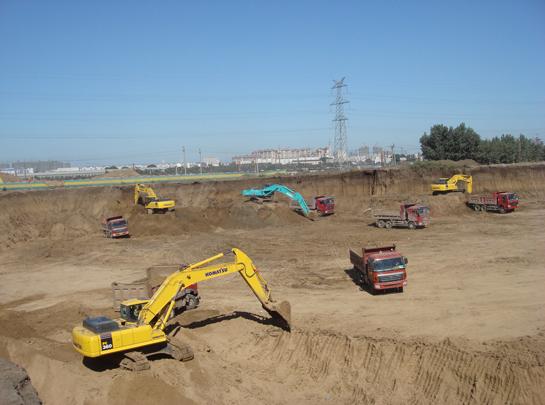 蘭州土石方工程施工