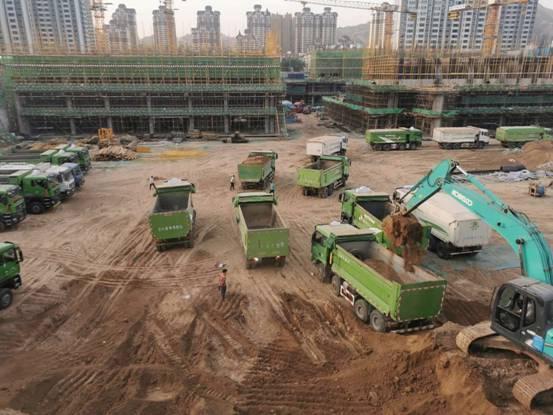 中建三局23、24号地块项目土方回填工程