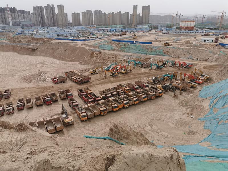 碧桂园大型土石方施工
