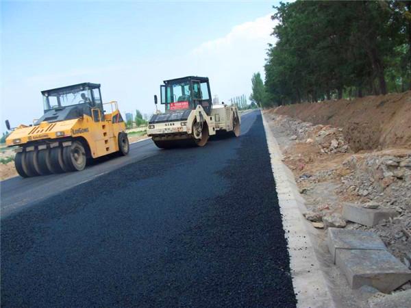 西沙窩修路工程