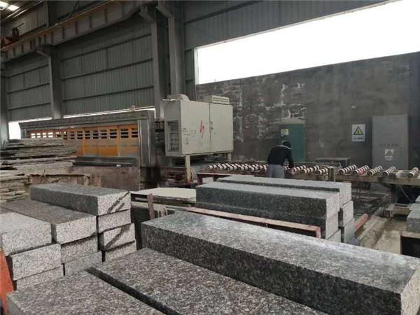 冰花蓝石材厂区环境