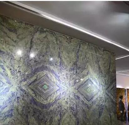 玻利维亚蓝石材及应用案例