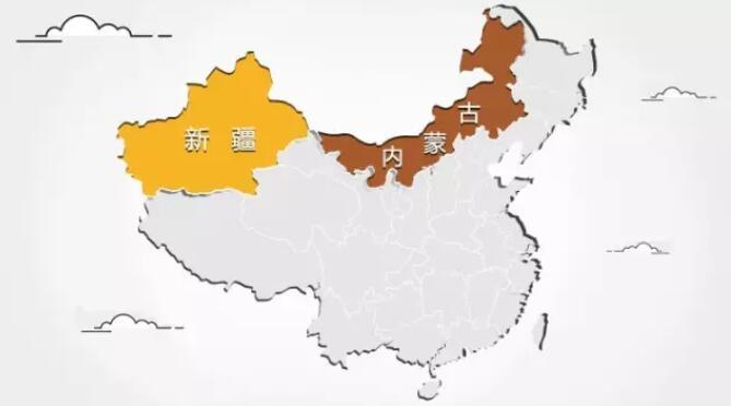 新疆和内蒙古冰花蓝花岗石-资源主产区特点介绍